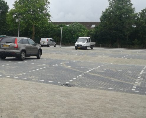 Straatwerk in Spijkenisse afgerond