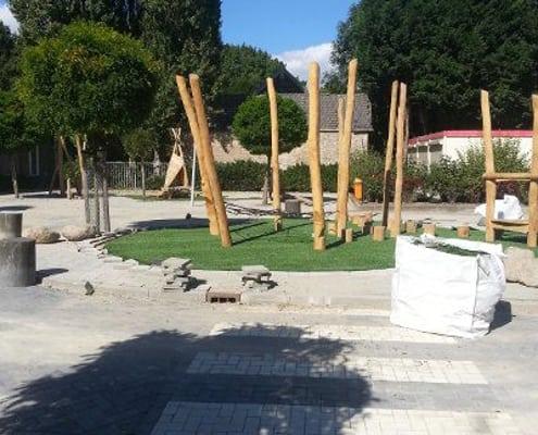 Schoolplein renovatie in Barendrecht