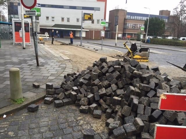Bestrating Busstation Krimpen aan den IJssel