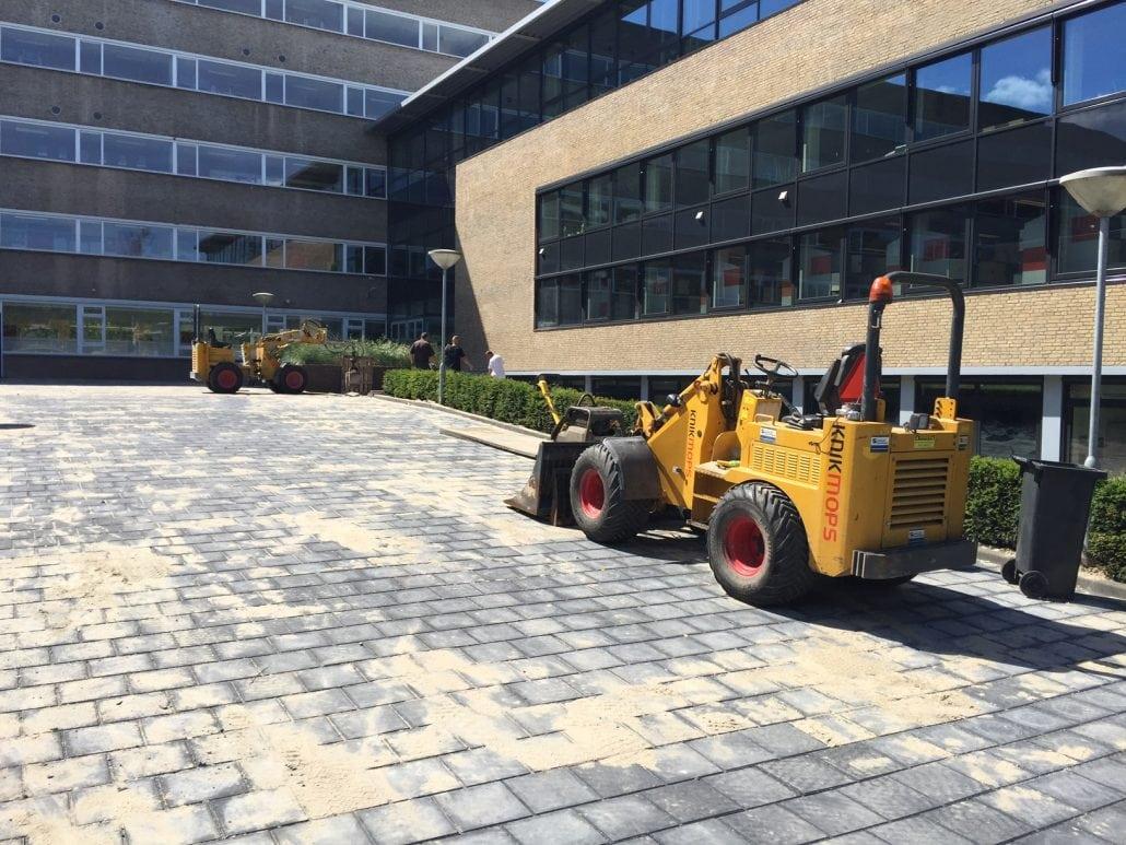 Schoolplein renovatie Schiedam