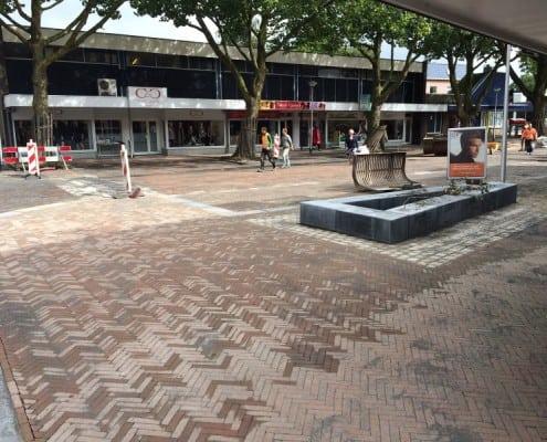 Straatwerk centrum Rhoon