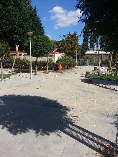 Herinrichting schoolplein de Rank Barendrecht