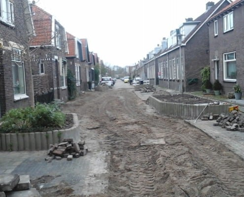 Straatwerk project Waalstraat