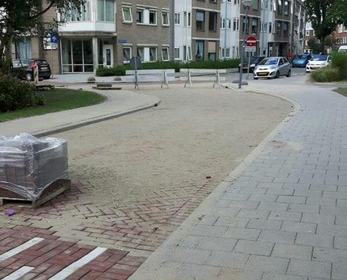 Straatwerk en bestratingen project Bevelandsestraat