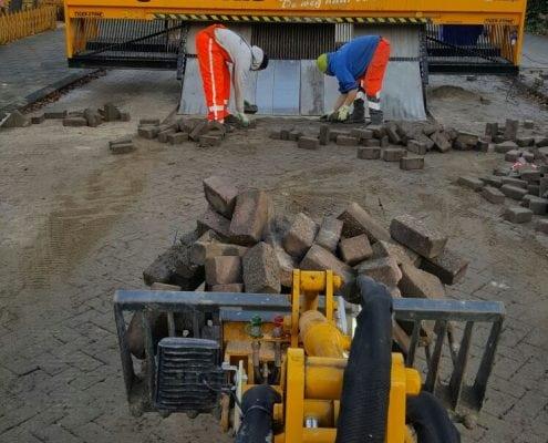 Bestrating middels Tiger-Stone in Poeldijk