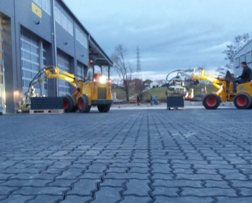 Straatwerk in Zwitserland
