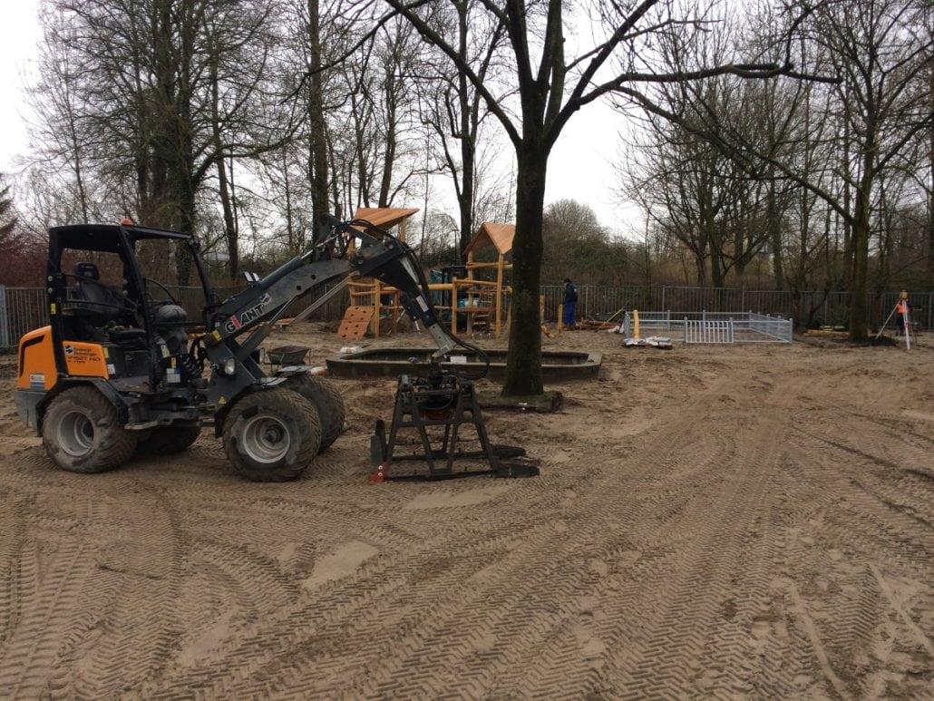 Aanleg van een schoolplein in Schoonhoven (5)