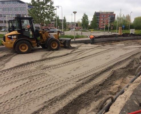 Straatwerkproject Rondohof