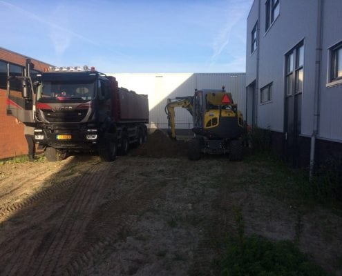 Betonplaten leggen H&D Dordrecht