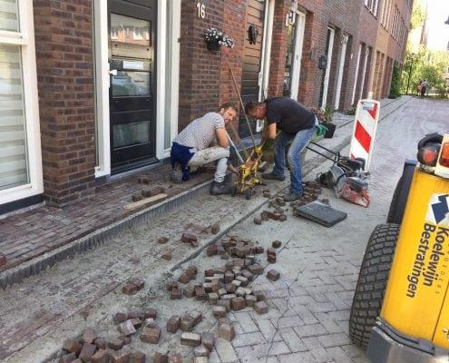 Herbestrating Landgoed Eikenrode Krimpen aan den IJssel