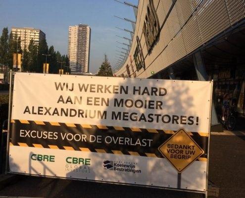 Bestrating Alexandrium Megastores