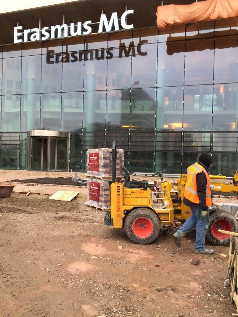 Bestrating Erasmus Medisch Centrum