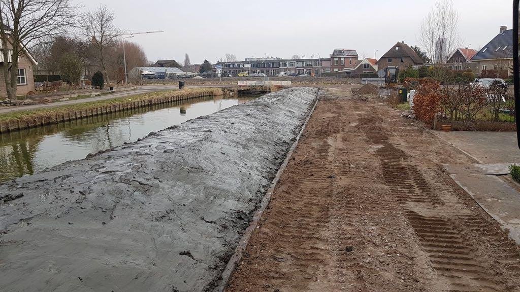 Bestratingen rijbaan en parkeervakken Den Hoorn