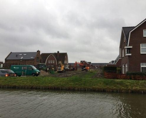 Bestrating en drainage aanleg Den Hoorn