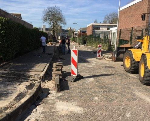 Herbestrating Jozef Israëlstraat Krimpen