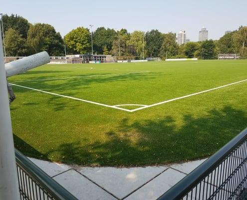 Aanleggen bestrating sportvelden Amsterdam