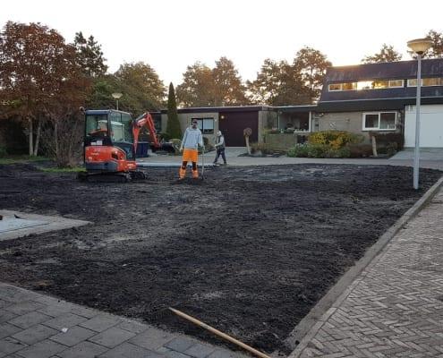 Bestrating door Koelewijn Bestratingen B.V.