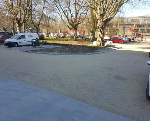 Herbestrating diverse straten Rozenburg