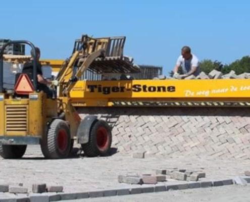 Bestraten met de Tigerstone (2)