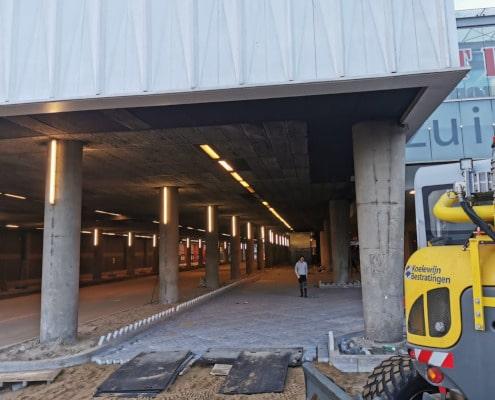 Bestrating busstation Zuidplein